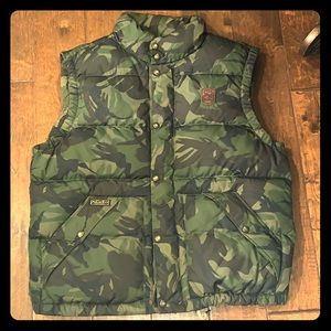 Polo Ralph Lauren quilted down puffer jacket vest